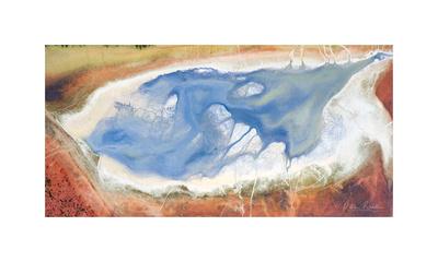 Phosphor tailing pond residue 8